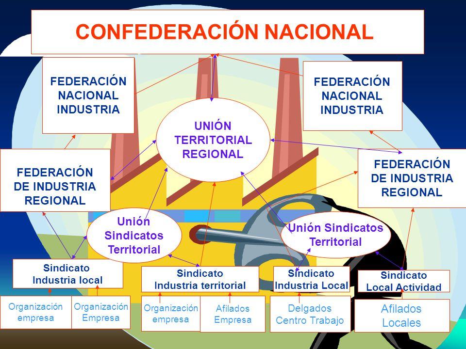 Organización empresa Organización Empresa Organización empresa Afilados Empresa Delgados Centro Trabajo Afilados Locales Sindicato Industria local Sin