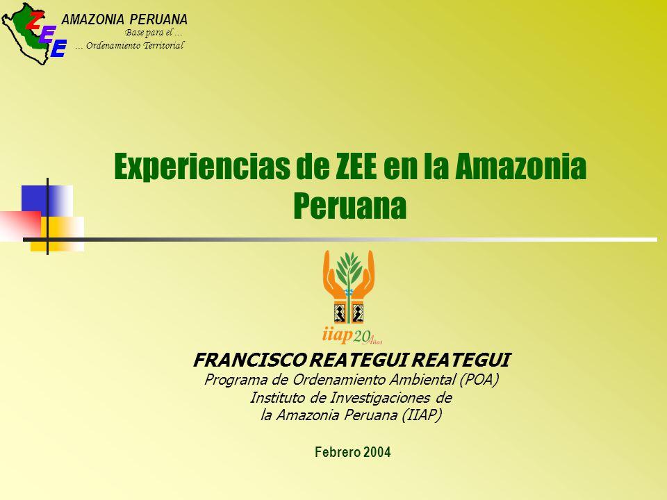AMAZONIA PERUANA Base para el......