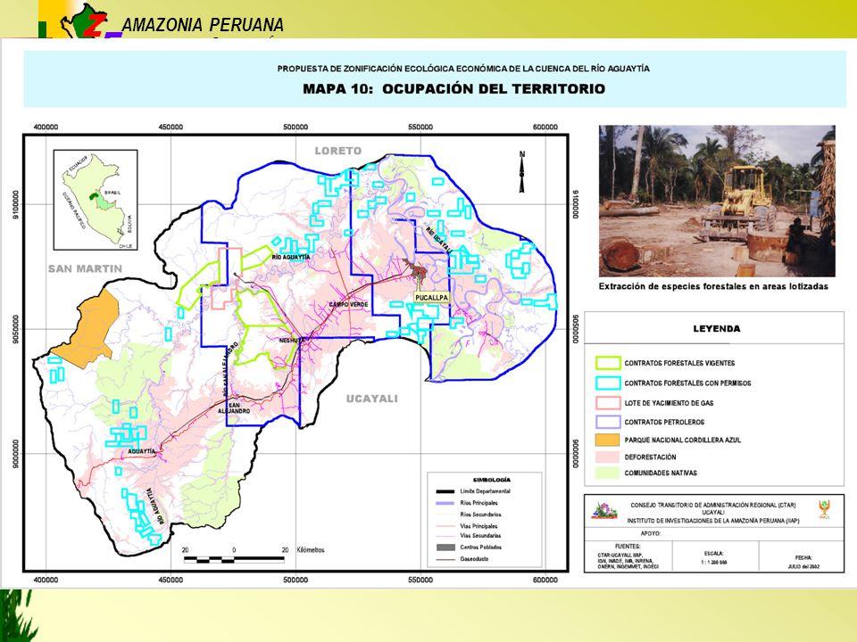 AMAZONIA PERUANA Base para el...... Ordenamiento Territorial
