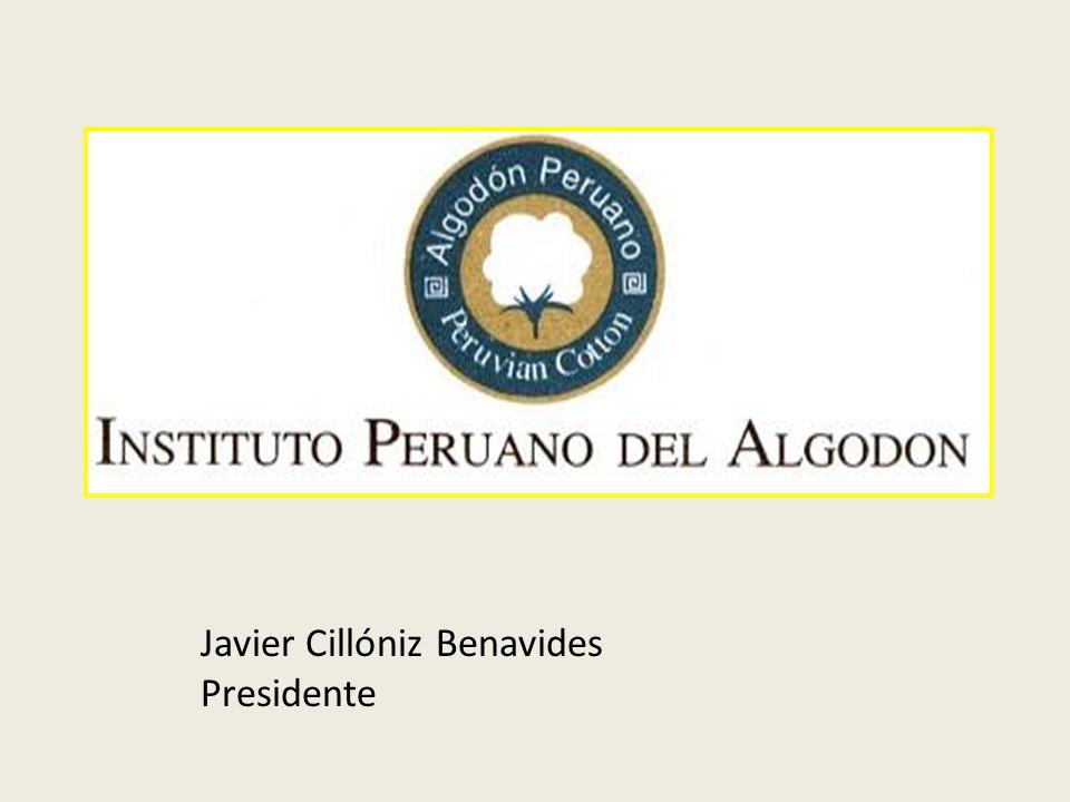 Javier Cillóniz Benavides Presidente