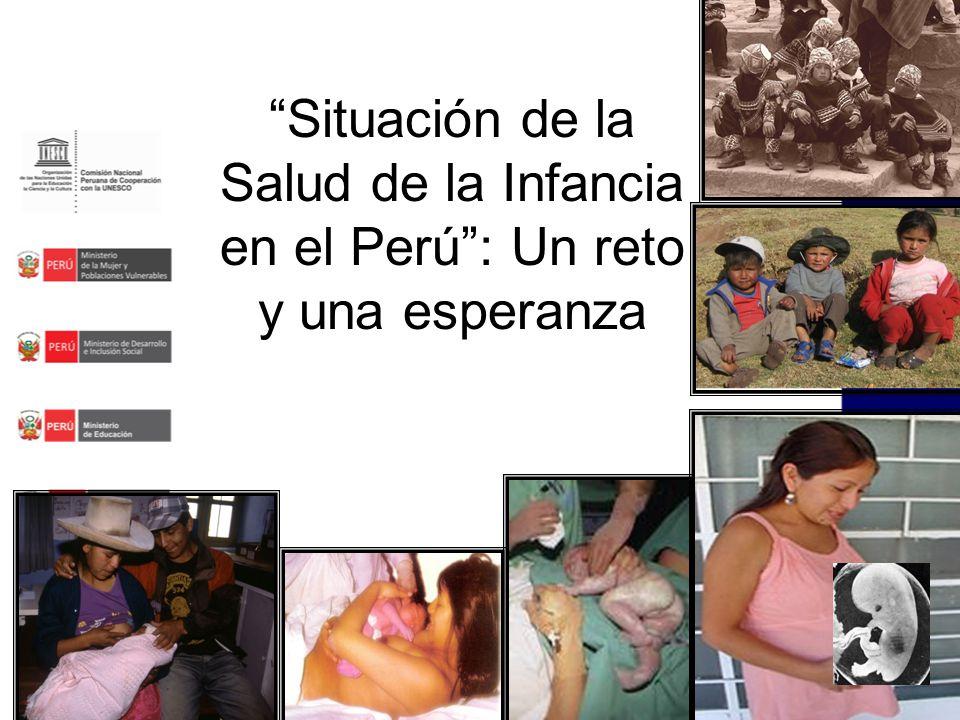 Situación de la Salud de la Infancia en el Perú: Un reto y una esperanza
