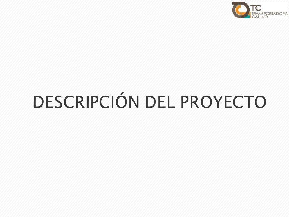 Proyecto TC Mina 1 Faja Tubular 4 Muelle de Minerales y Faja Tripper 5 Open Acces 3 2 Almacenes DELIMITACIÓN DEL PROYECTO FLUJO DE CONCENTRADOS Transporte de concentrados