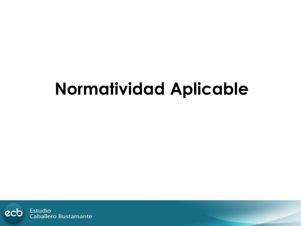 Normatividad Aplicable
