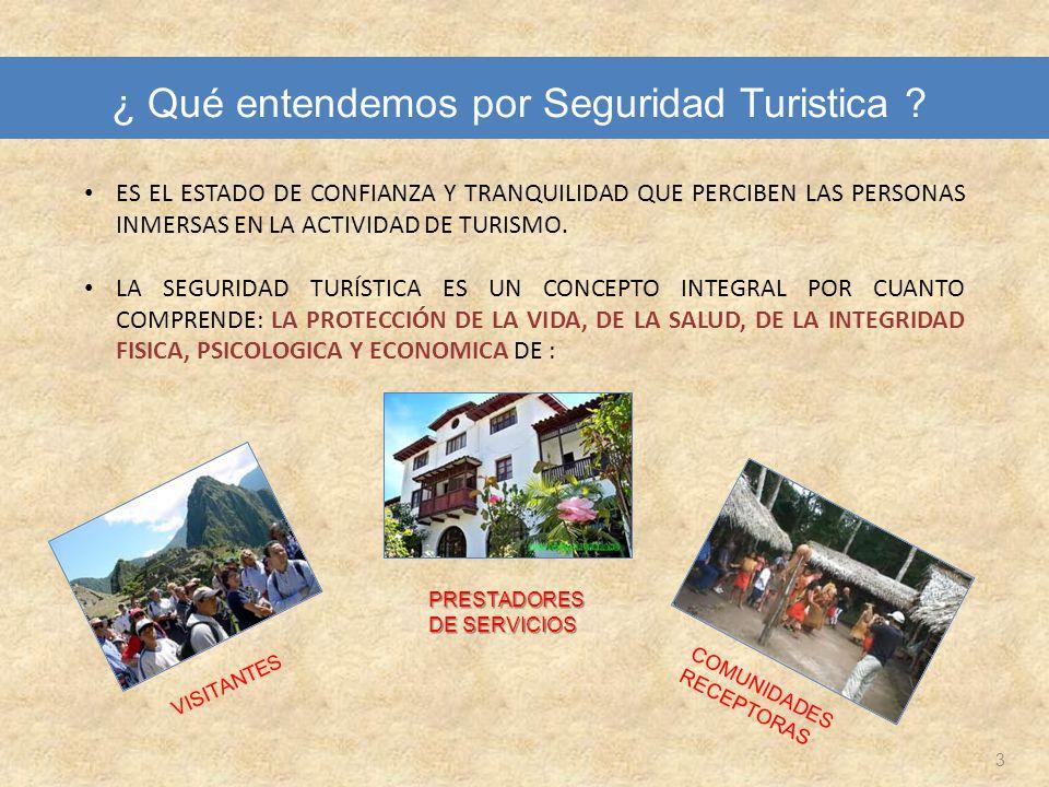 Red de Protección al Turista 34 Oficina de Seguridad Turística MINCETUR Teléfono: 513-6100 anexo 1530 Fax: 513-6100 anexo 1510 Lic.