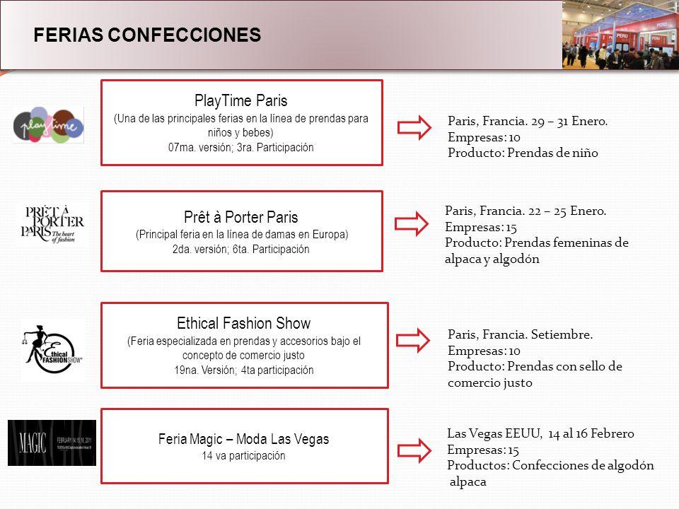 FERIAS CONFECCIONES PlayTime Paris (Una de las principales ferias en la línea de prendas para niños y bebes) 07ma.