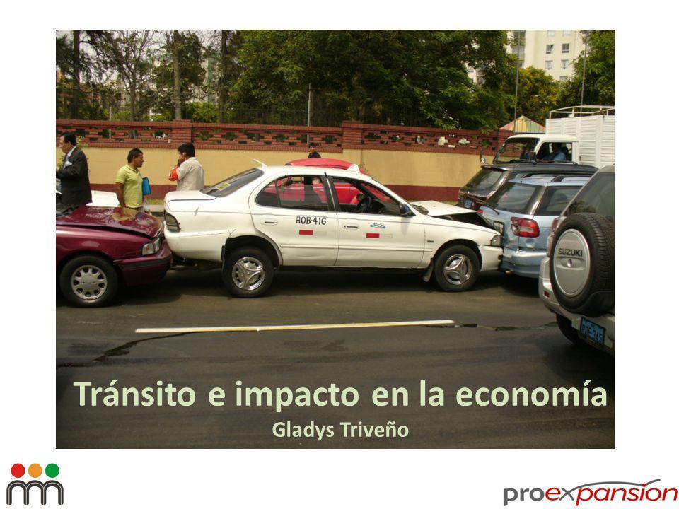 Tránsito e impacto en la economía Gladys Triveño