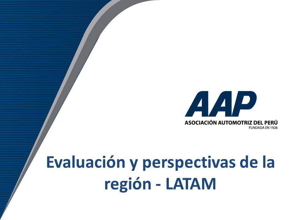 Evaluación y perspectivas de la región - LATAM