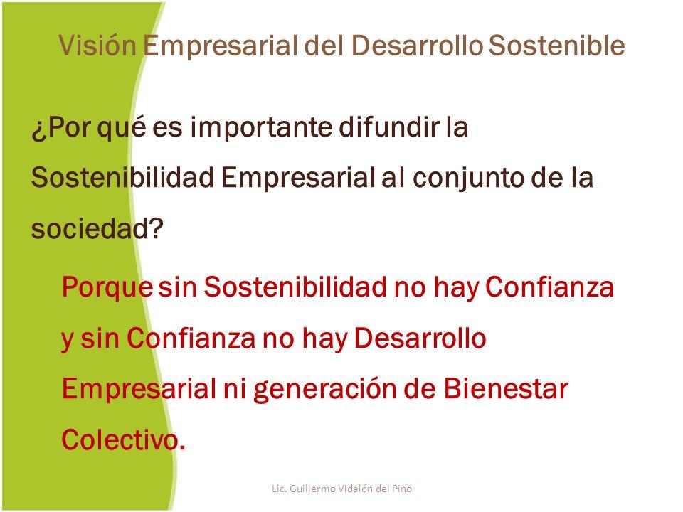 ¿Por qué es importante difundir la Sostenibilidad Empresarial al conjunto de la sociedad.