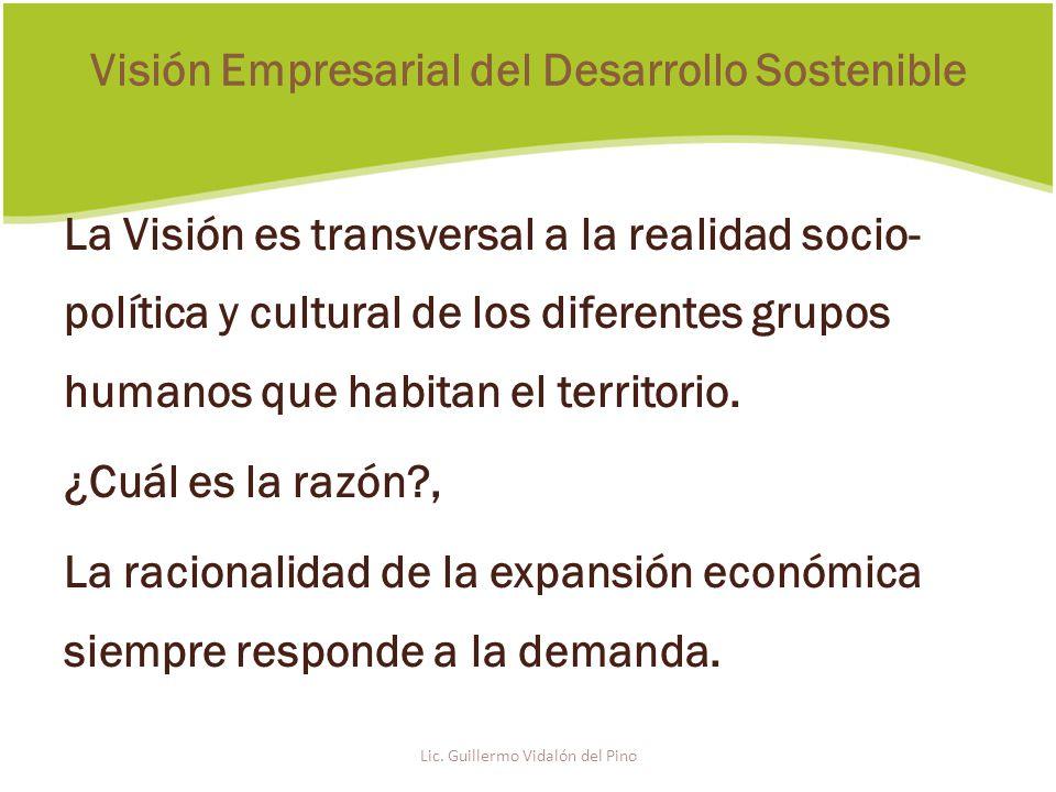 La Visión es transversal a la realidad socio- política y cultural de los diferentes grupos humanos que habitan el territorio.