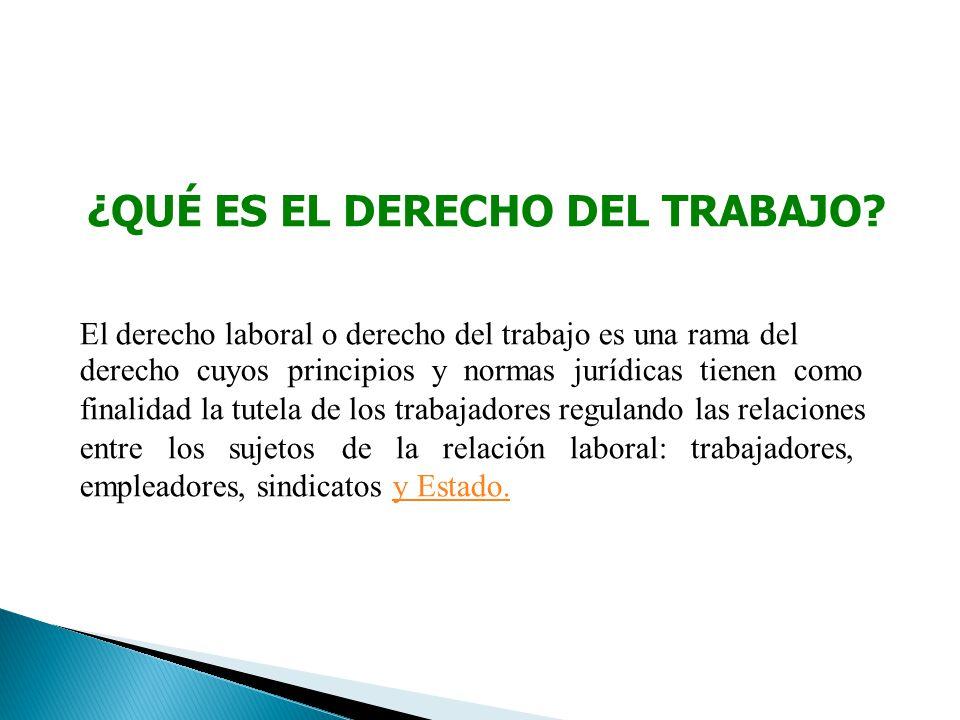 PRINCIPIOS DEL DERECHO DEL TRABAJO Artículo 26° de la Constitución: En la relación laboral se respetan los siguientes principios: 1.