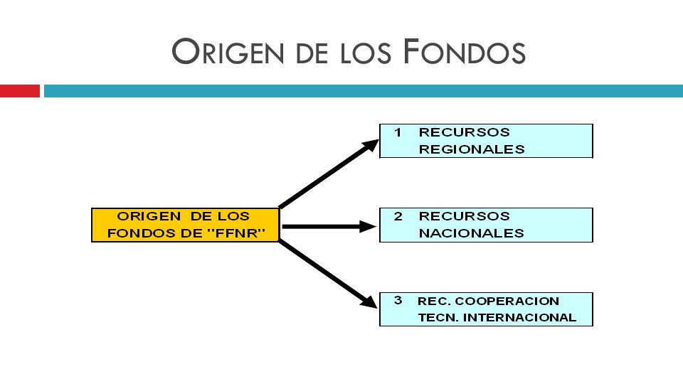 O RIGEN DE LOS F ONDOS