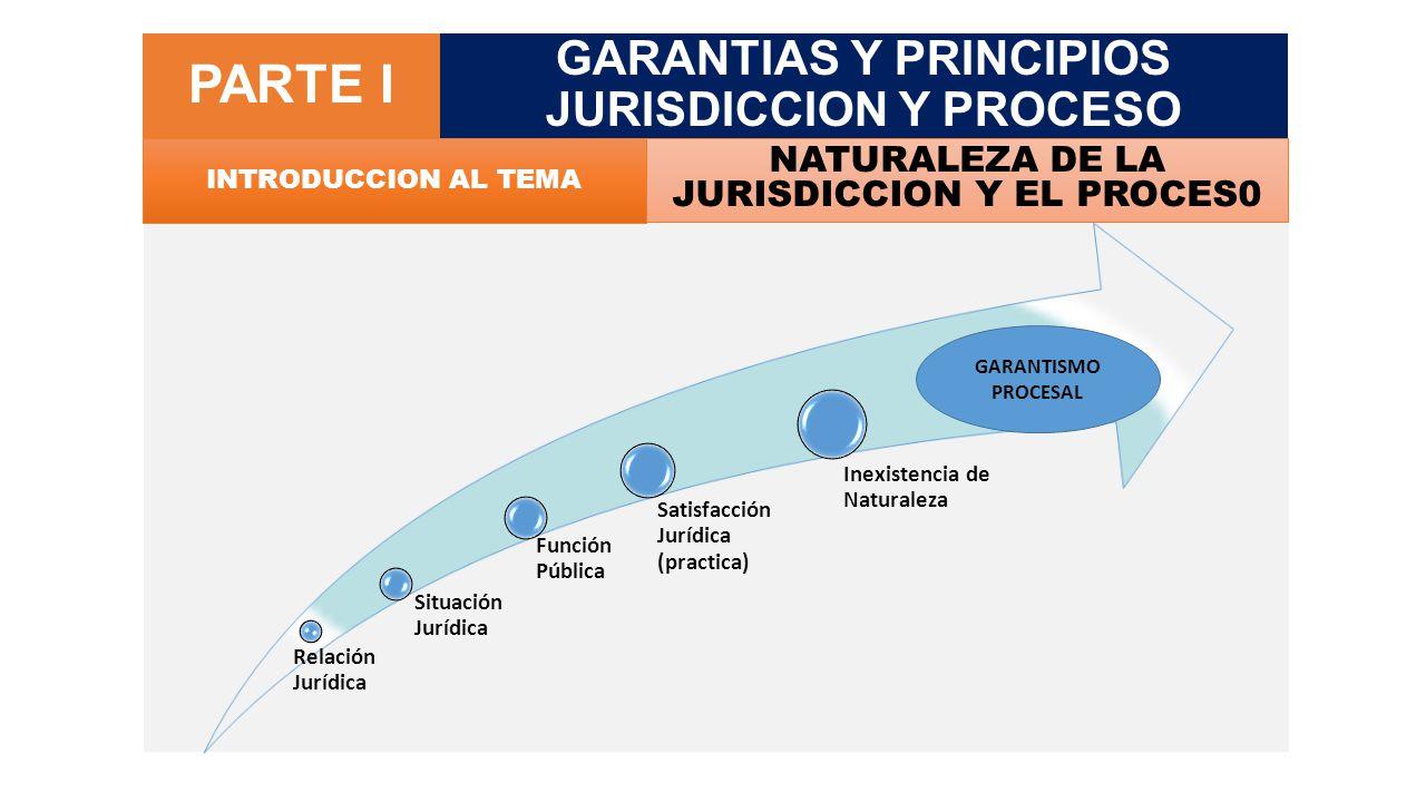 CONCEPTO DE PROCESO SISTEMA DE GARANTIAS CONSTITUCIONALES (DE CARÁCTER SUSTANTIVO Y TEMPORAL, NO MECANISISTA Y COMPROMETIDO) QUE PERMITE O BUSCA ELIMINAR UNA CONTROVERSIA, CONFLICTO O PATOLOGIA JURIDICA.
