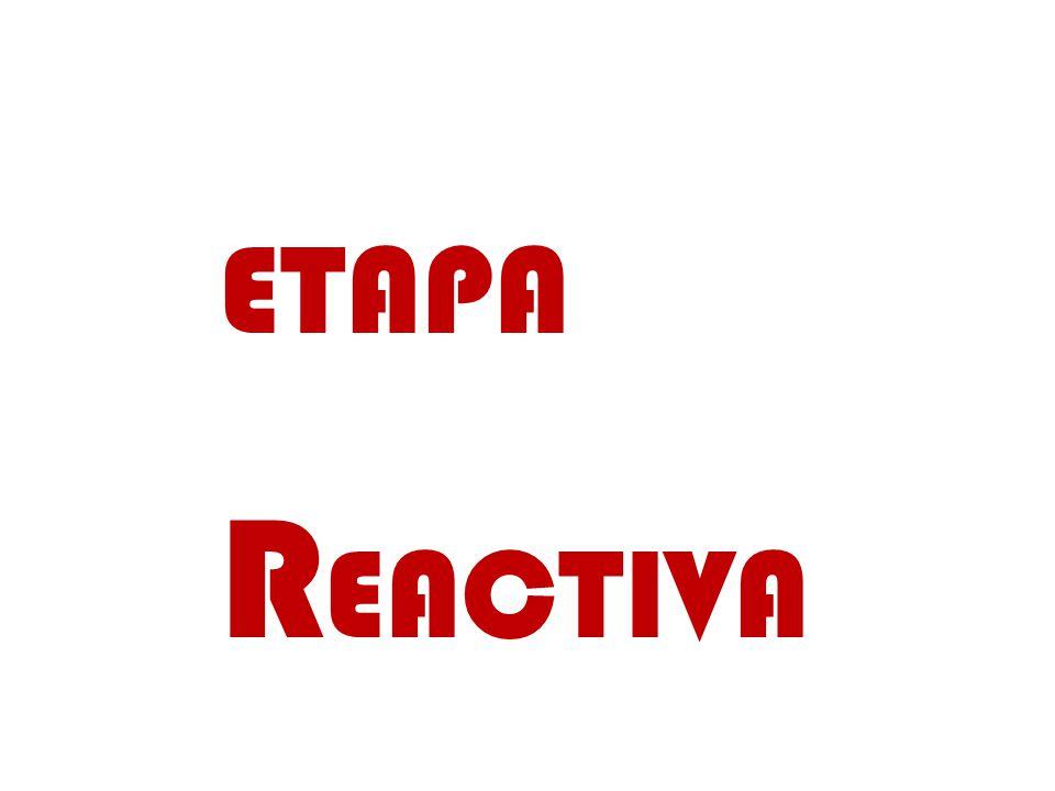 ETAPA R EACTIVA