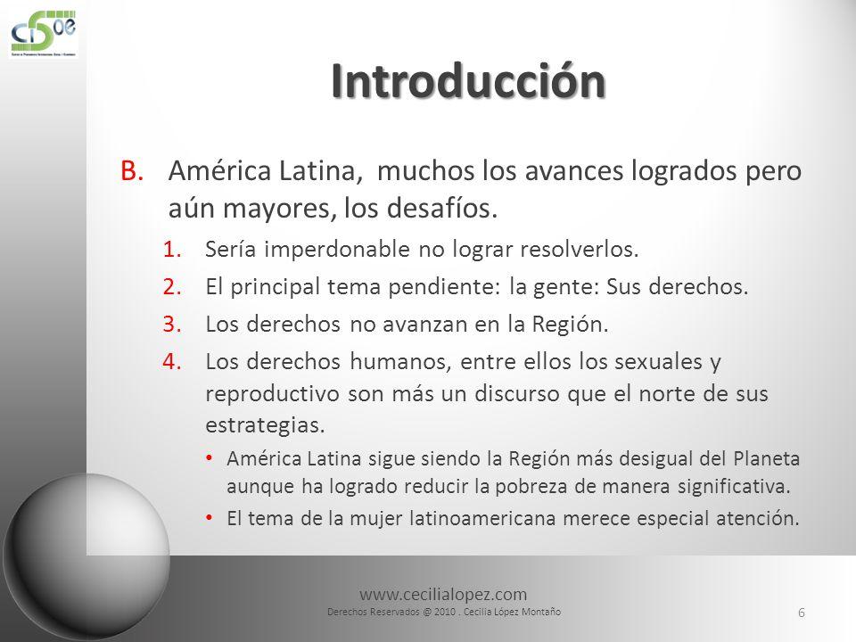 www.cecilialopez.com Derechos Reservados @ 2010. Cecilia López Montaño 37