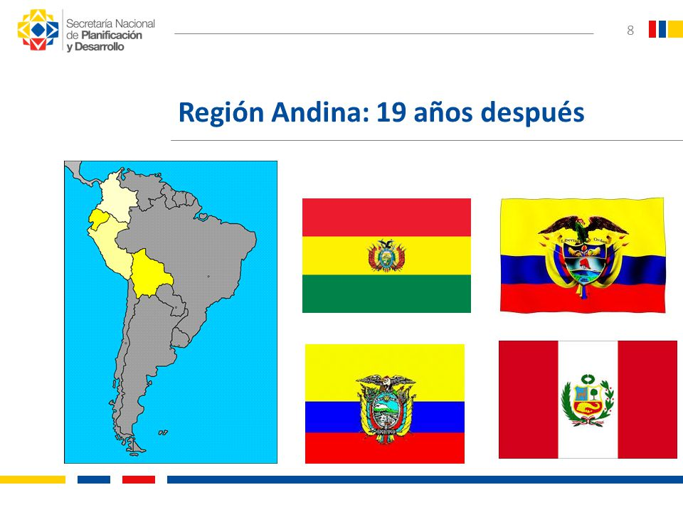 9 Región Andina: Índice de Gini Fuente: Comisión Económica para América Latina y el Caribe (CEPAL), sobre la base de tabulaciones especiales de encuestas de hogares de los respectivos países.