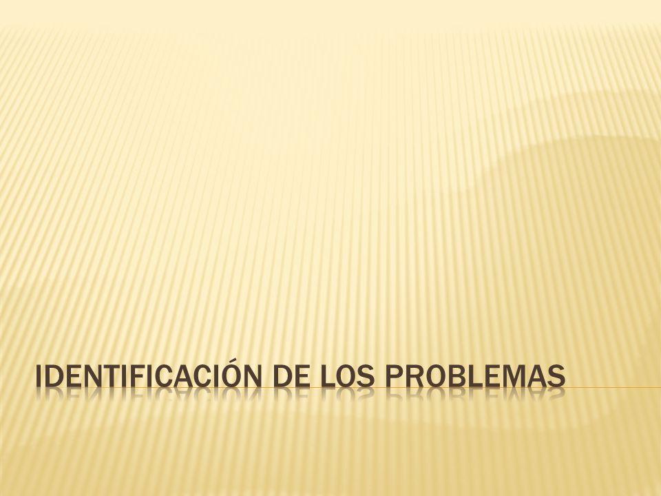 PROBLEMA ACADÉMICO: CAPACIDAD DE ATENCIÓN CORTA – SEGUIR INSTRUCCIONES PROBLEMA PERSONAL: FALTA DE AUTOCONOCIMIENTO PROBLEMA SOCIAL: RELACIONES ADECUADAS ENTRE PARES