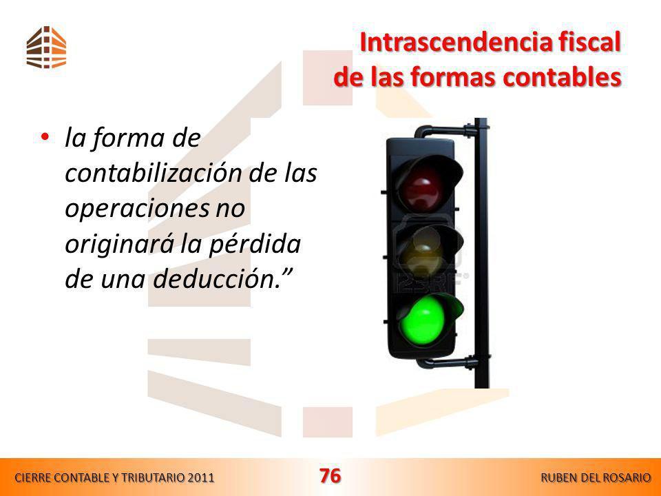 Gastos de ejercicios anteriores CIERRE CONTABLE Y TRIBUTARIO 2011RUBEN DEL ROSARIO 75 FORMAFISCAL NIIF
