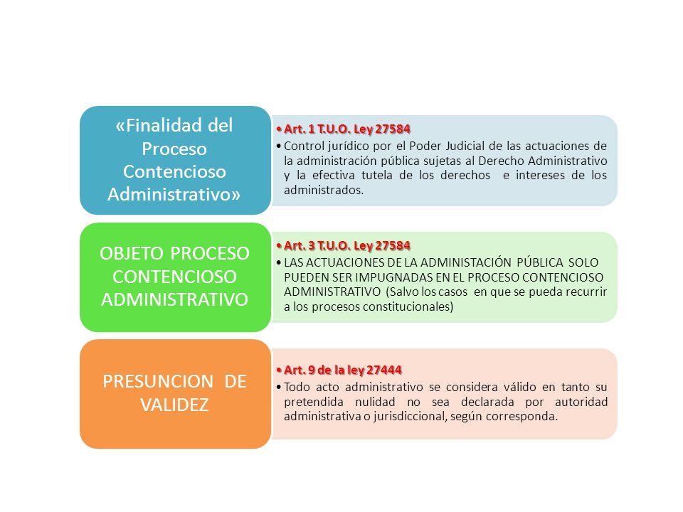SR. JUEZ, CUESTIONO LA PRESUNCION DE VALIDEZ DE LA ACTUACIÓN ADMINISTRATIVA