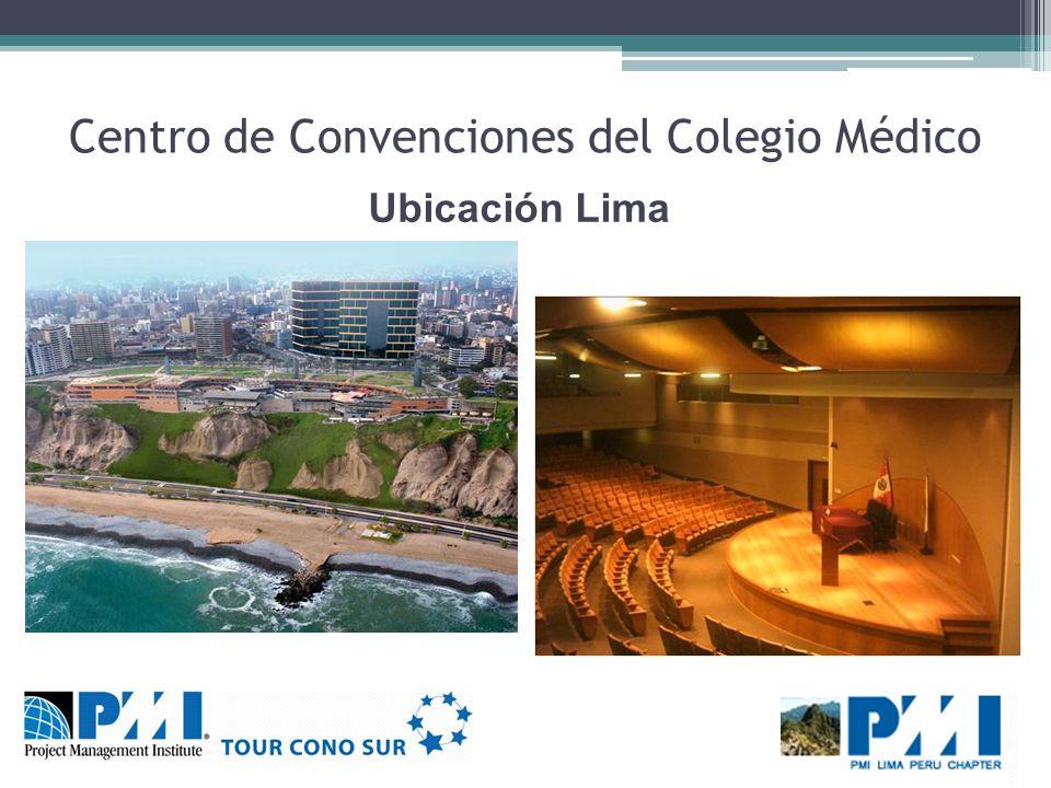 Centro de Convenciones del Colegio Médico Ubicación Lima