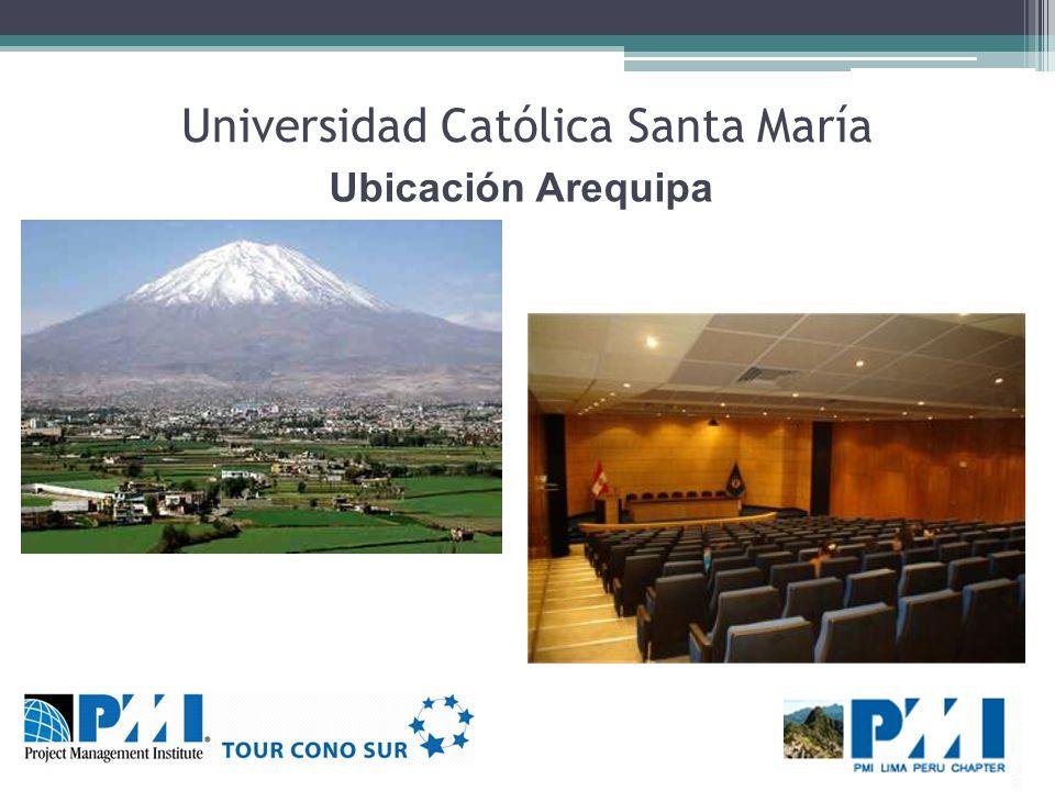 Universidad Católica Santa María Ubicación Arequipa