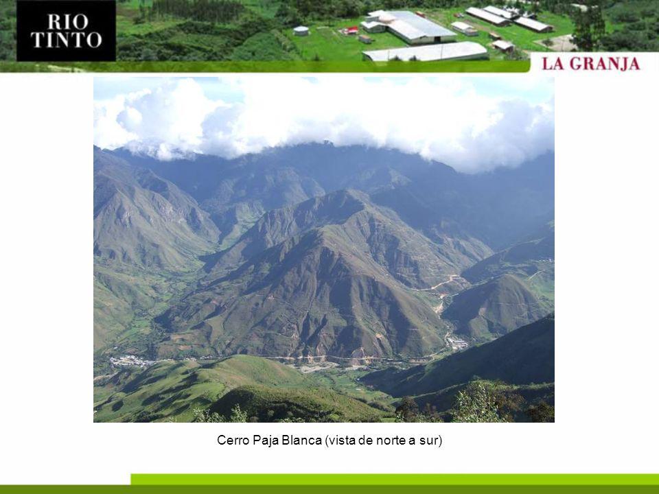 Infraestructura Mejoramiento del campamento.Caminos de acceso al área: –Mejoramiento de 55km.