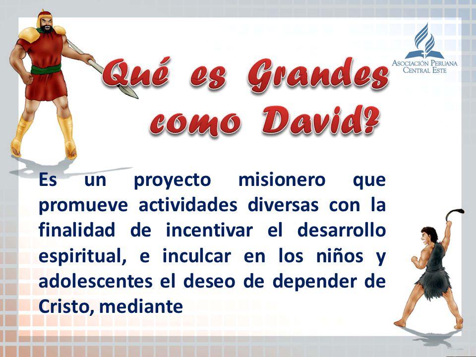 Es un proyecto misionero que promueve actividades diversas con la finalidad de incentivar el desarrollo espiritual, e inculcar en los niños y adolesce