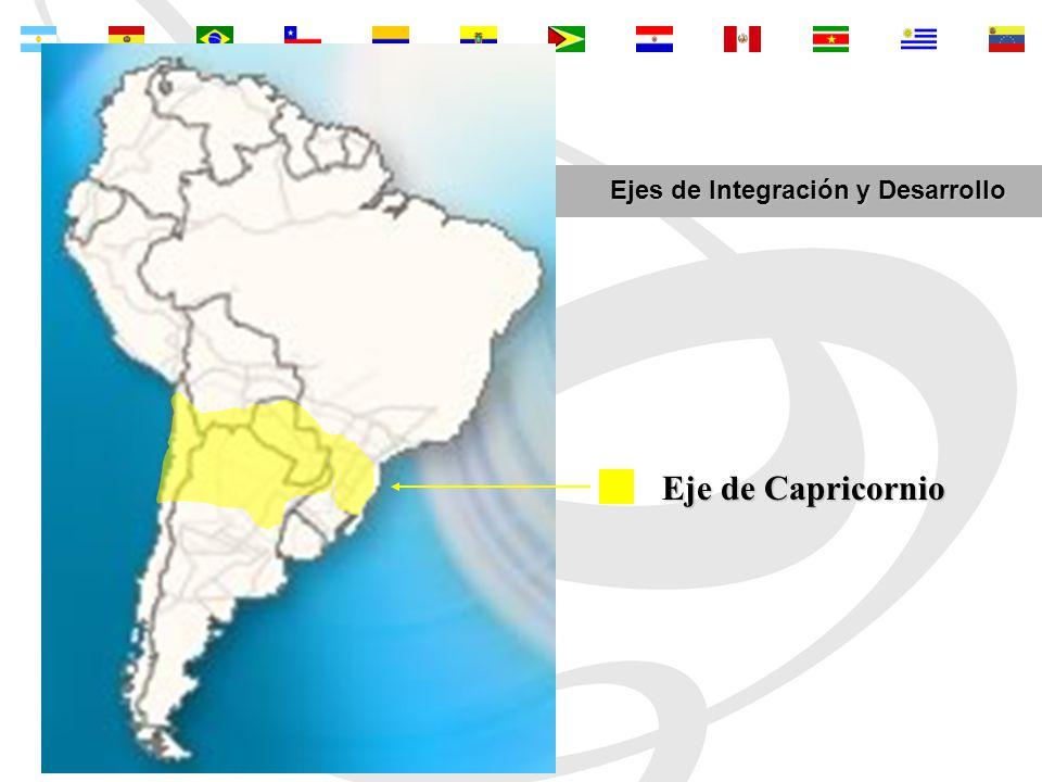 Eje de Capricornio Ejes de Integración y Desarrollo