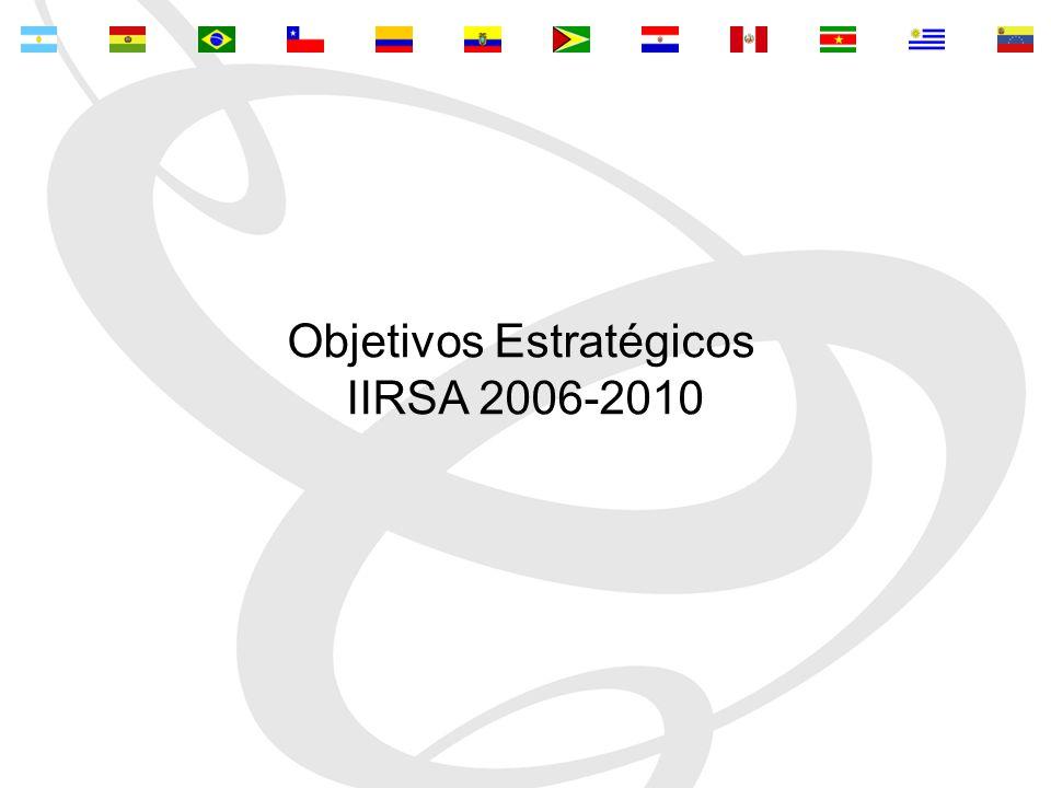 Objetivos Estratégicos IIRSA 2006-2010
