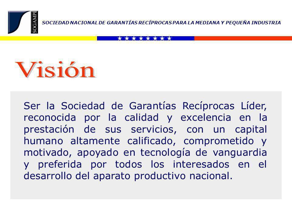 SOCIEDAD NACIONAL DE GARANTÍAS RECÍPROCAS PARA LA MEDIANA Y PEQUEÑA INDUSTRIA Constitución Nacional de la República Bolivariana de Venezuela.