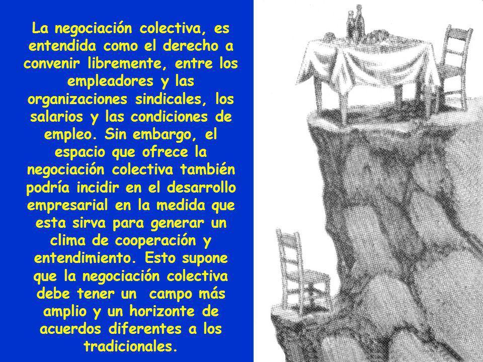 ASPECTOS METODOLÓGICOS DE LA NEGOCIACIÓN COLECTIVA