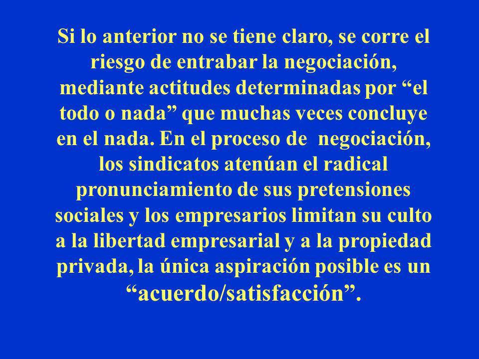 La conclusión del proceso de negociación se traduce en la firma de un acuerdo que, siendo el resultado de la conciliación de intereses, lo podemos den