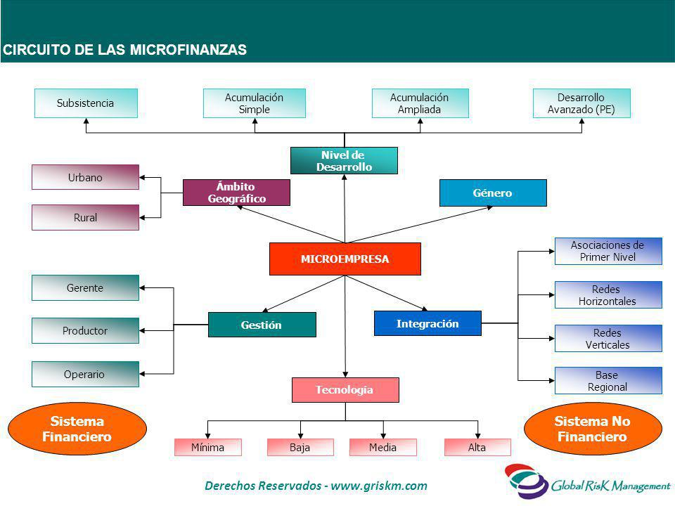Derechos Reservados - www.griskm.com BANCA DE DESARROLLO Entidad financiera cuya misión principal es la de promover el desarrollo productivo, a través de la asistencia técnica y la intermediación financiera de recursos provenientes del Estado, de la Banca Multilateral y del Sistema Financiero Privado.