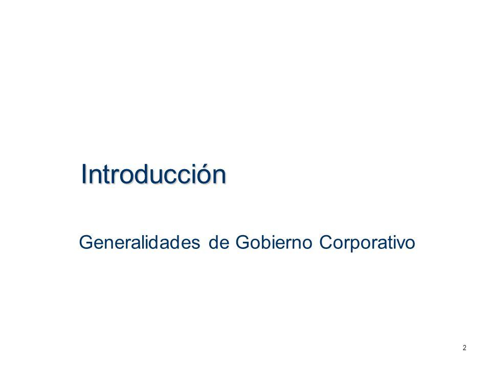 Los principios de gobierno corporativo fueron establecidos desde 1999 por la OCDE y en México por el CCE.