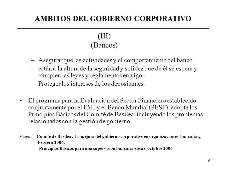 7 CAMPO ESPECÍFICO DEL ESTUDIO La banca de desarrollo de la región es mayoritariamente de propiedad pública.