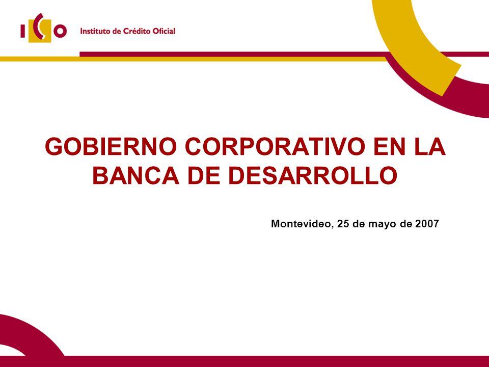 10/06/2014 Contenido 1)El Instituto de Crédito Oficial (ICO) 2)El gobierno corporativo en España.