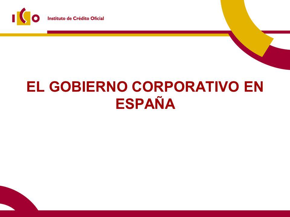 EL GOBIERNO CORPORATIVO EN ESPAÑA
