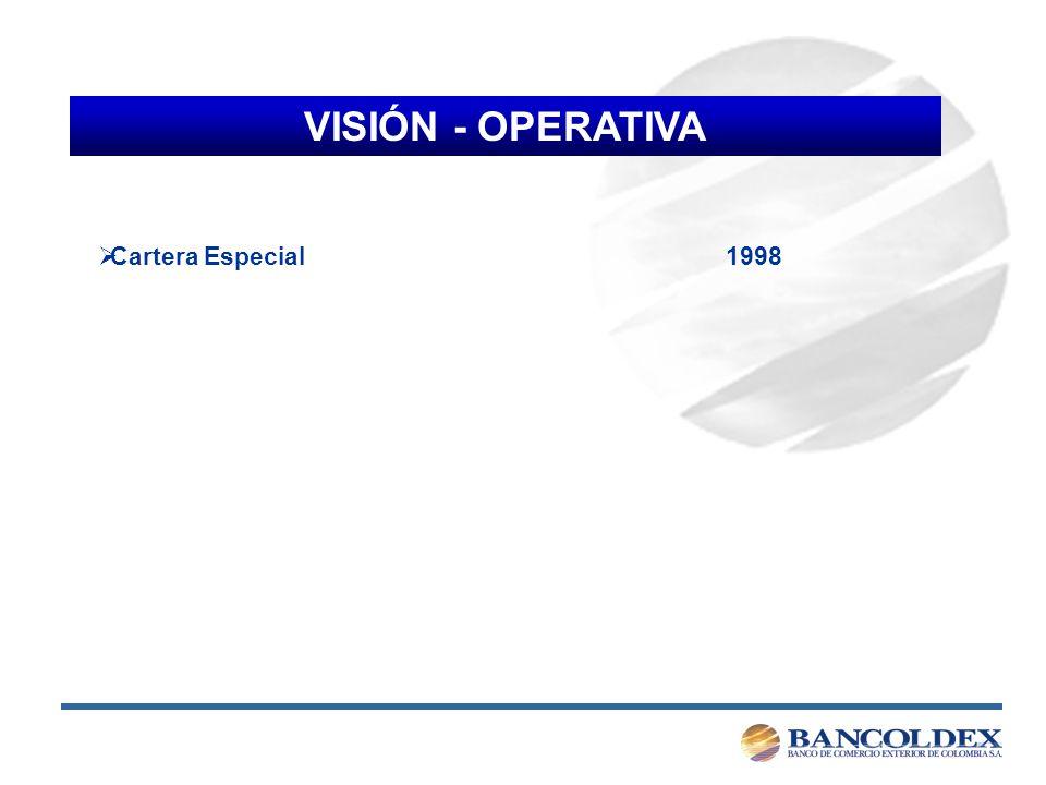 VISIÓN - OPERATIVA Cartera Especial 1998