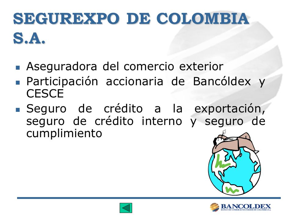 SEGUREXPO DE COLOMBIA S.A.