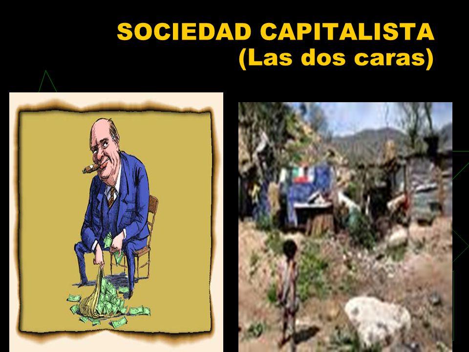 SOCIEDAD CAPITALISTA (Las dos caras)