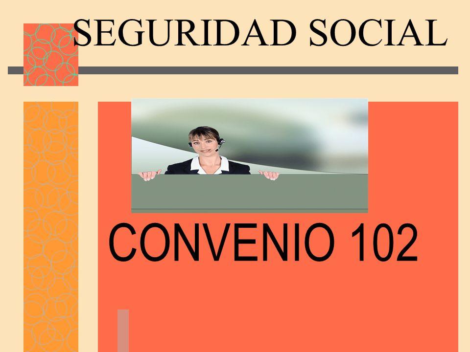 SEGURIDAD SOCIAL CONVENIO 102