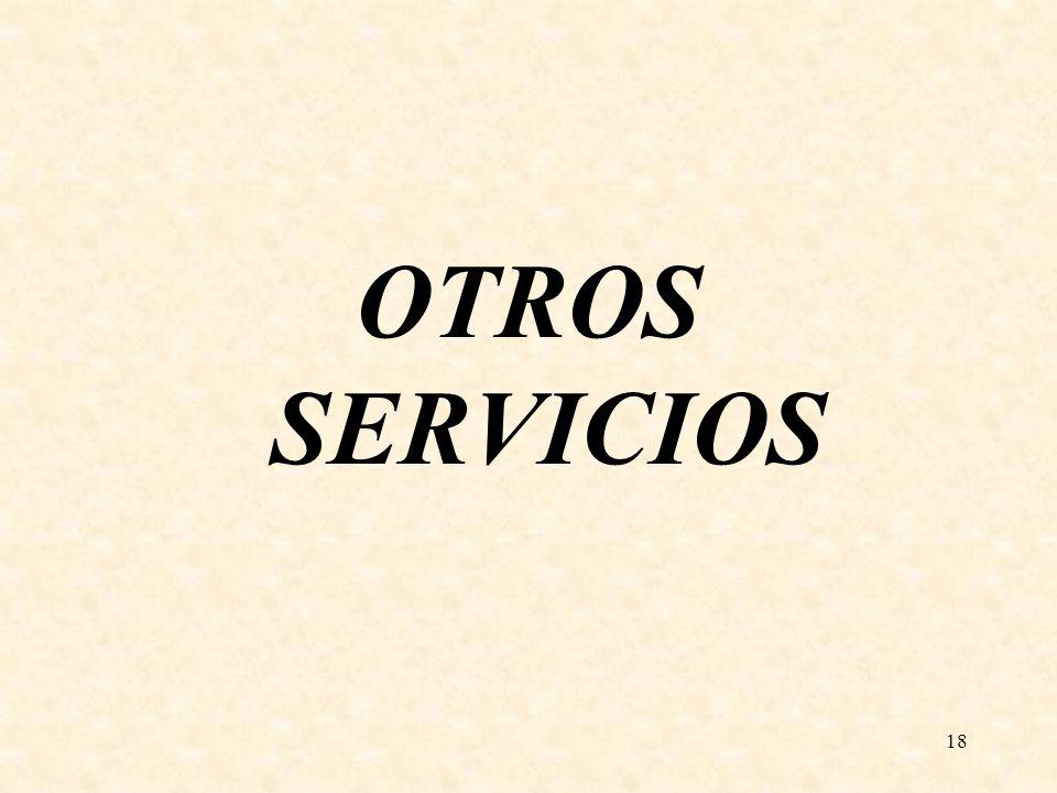 18 OTROS SERVICIOS