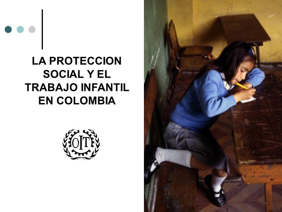 LA PROTECCION SOCIAL EN COLOMBIA Ministerio de la Protección Social Formular, dirigir y coordinar la política social del Gobierno Nacional en las áreas de empleo, trabajo, nutrición, protección y desarrollo de la familia, previsión y Seguridad Social Integral