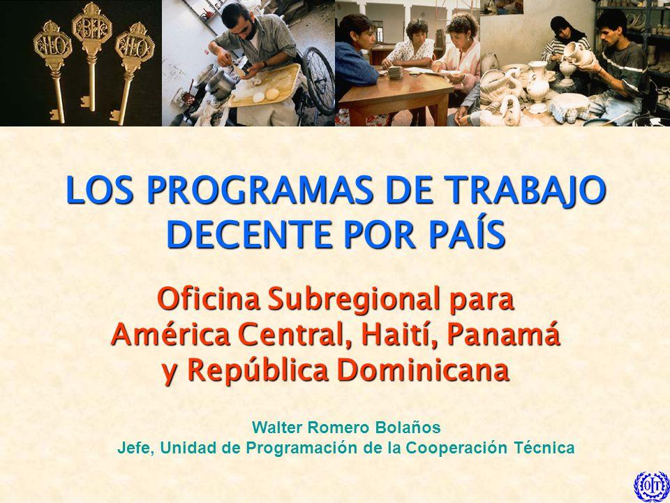 12 Acuerdo de Santo Domingo … la generación de trabajo decente, el desarrollo de la capacidad de los recursos humanos y en particular de los trabajadores, trabajadoras y empleadores.