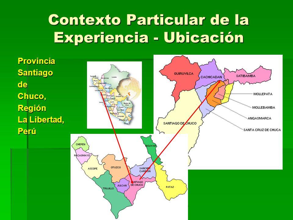 César Campos (DETEC) Origen de la Experiencia (1) Programa Iniciativas Rurales en Agua - DETEC.