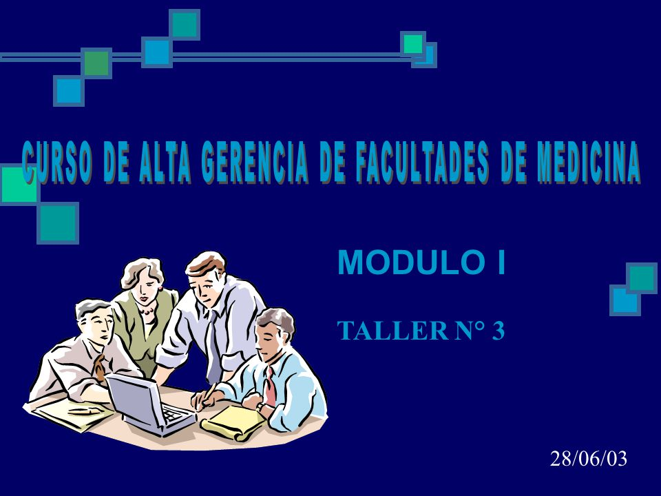 MODULO I TALLER N° 3 28/06/03