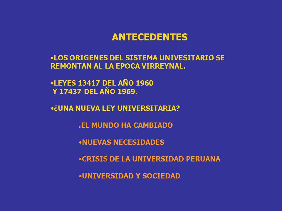 DIAGNOSTICO DE LA LEY UNIVERSITARIA VIGENTE: Nº 23733 SE INSPIRA EN LAS LEYES 13417 Y 17437, QUE RECOGEN LOS IDEALES DE LA REFORMA UNIVERSITARIA DE CORDOBA DE 1918.
