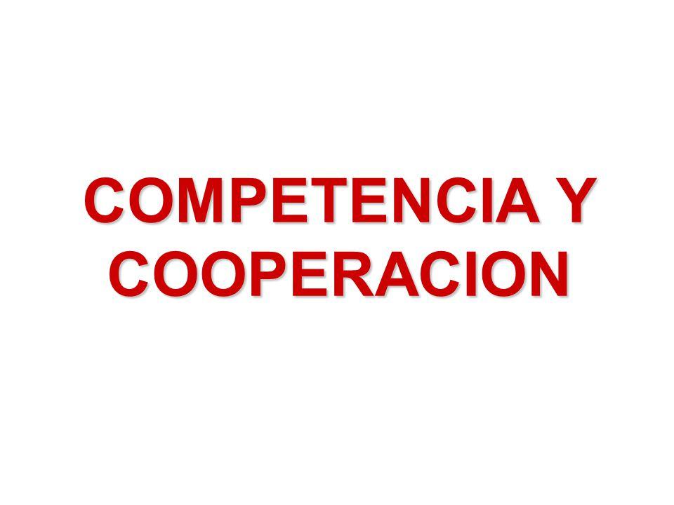 COMPETENCIA Y COOPERACION