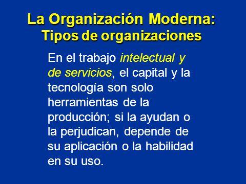 En el trabajo intelectual y de servicios, el capital y la tecnología son solo herramientas de la producción; si la ayudan o la perjudican, depende de