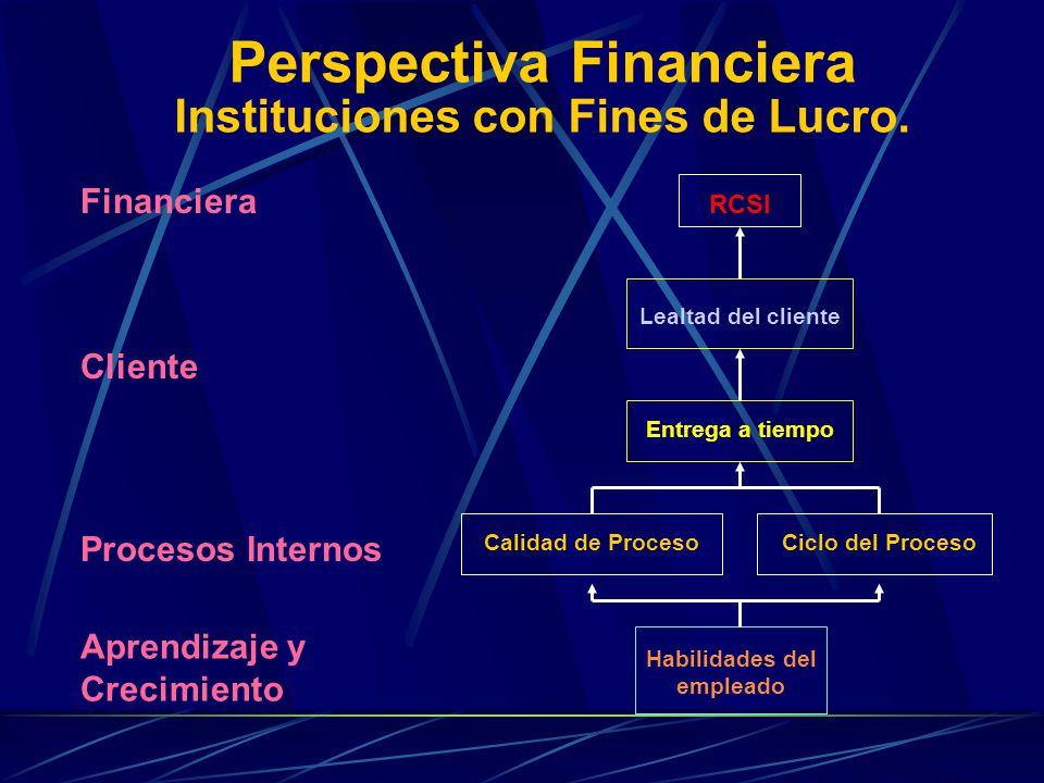 Perspectiva Financiera Instituciones sin Fines de Lucro.