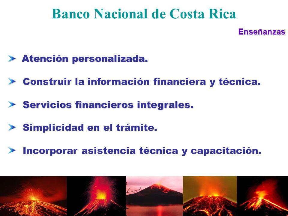 Enseñanzas Atención personalizada. Atención personalizada. Construir la información financiera y técnica. Servicios financieros integrales. Simplicida